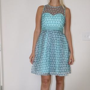 Turquoise Anthropologie Dress - Size 4 - NWT